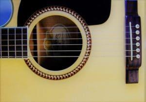 guitare débutant folk