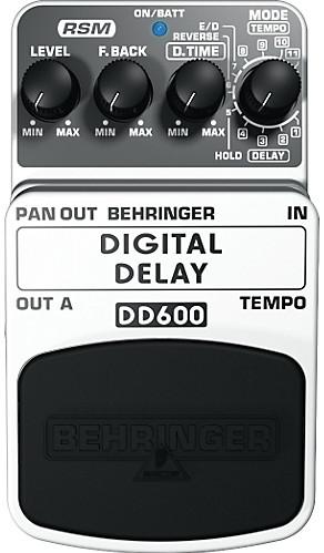 pédale delay behringer DD600