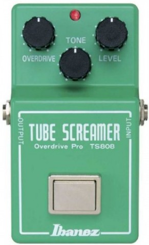 pedale overdrive Ibanez ts 808