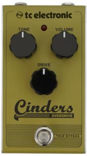 Pédale Overdrive TC electronic cinders