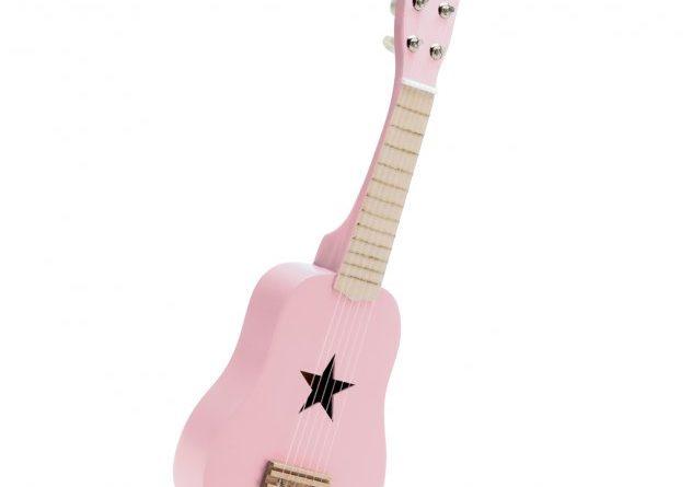 guitare rose enfant