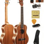 guitare hawaienne avec accessoire